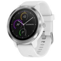 Garmin Vivoactive 3 White with Stainless Hardware (010-01769-22)