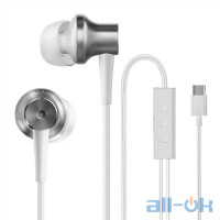 Наушники с микрофоном  Xiaomi Mi ANC & Type-C In-Ear Earphones White