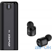 AWEI T8 Twins Earphones Black