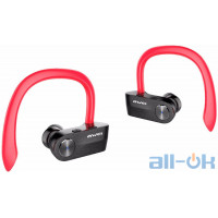 AWEI T2 Twins Earphones Red
