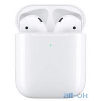 "Наушники TWS (""полностью беспроводные"") Apple AirPods with Wireless Charging Case (MRXJ2)"
