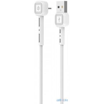 Кабель AWEI CL-65 Lightning cable 1m White