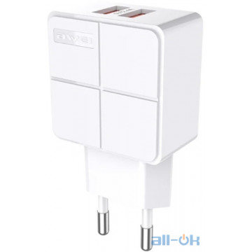 AWEI C-500 Travel charger 2USB 2.4A White