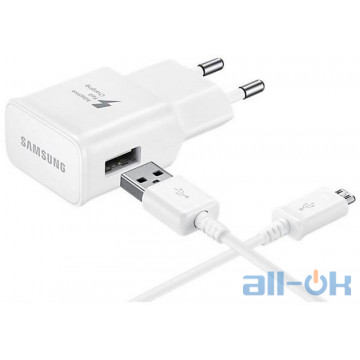 Samsung Travel Charger 1USB 2A + MicroUSB Cable 1.2m White