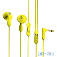Наушники Remax RM-301 Earphone Yellow