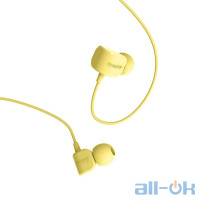 Наушники Remax RM-502 Earphone Yellow