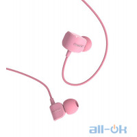 Наушники Remax RM-502 Earphone Pink