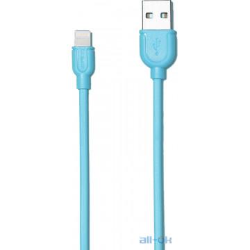 Кабель Remax Souffle Lighting Blue