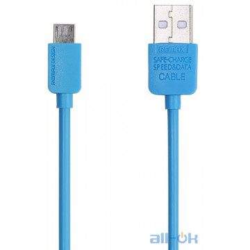 Кабель Remax Light Cable Micro-USB 1m Blue