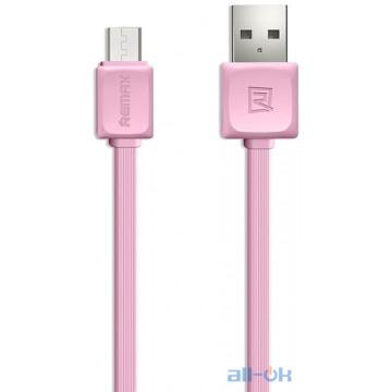 Кабель Remax Fast Data Micro-USB 1m Pink