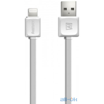 Кабель Remax Fast Charging Cable Lightning 1m White
