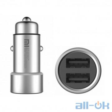 Автомобільний зарядний пристрій Xiaomi Car Charger Silver (GDS4042CN, GDS4048GL)