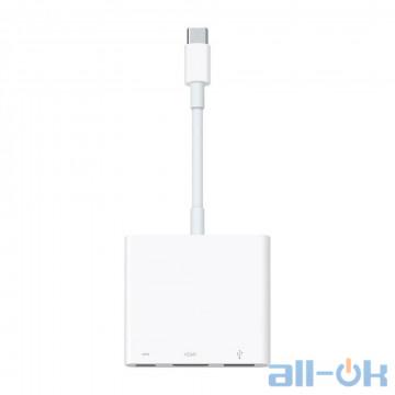 Мультипортовый адаптер Apple USB-C to digital AV Multiport Adapter (MJ1K2)