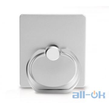 Кольцо-держатель для смартфона Ring Holder KickStand Universal Smartphone Silver