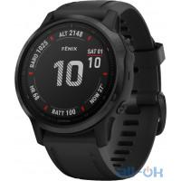 Спортивний годинник  Garmin 6S Pro Sapphire Black With Black Band (010-02159-14)