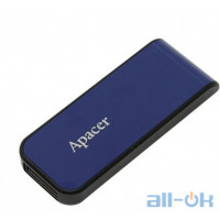 Флешка Apacer 32 GB AH334 Blue USB 2.0 (AP32GAH334U-1)