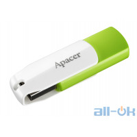 Флешка Apacer 32 GB AH335 Green (AP32GAH335G-1)
