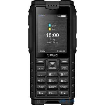 Sigma mobile X-treme DZ68 Black UA UCRF