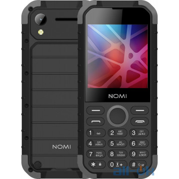 Nomi i285 X-Treme Black-Grey UA UCRF