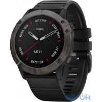 Спортивний годинник  Garmin Fenix 6X Pro Sapphire Carbon Grey DLC with Black Band (010-02157-11/10)