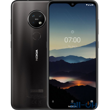 Nokia 7.2 4/64GB Charcoal UA UCRF