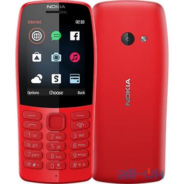Nokia 210 Dual SIM 2019 Red (16OTRR01A01) UA UCRF