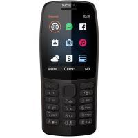 Nokia 210 Dual SIM 2019 Black (16OTRB01A02) UA UCRF