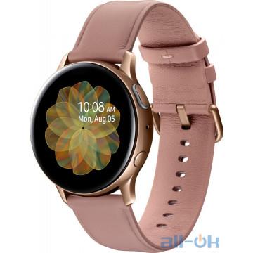 Samsung Galaxy Watch Active 2 40mm Gold Stainless steel (SM-R830NSDASEK)