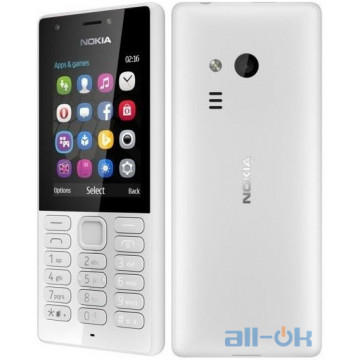 Nokia 216 Dual Sim Grey (A00027788) UA UCRF