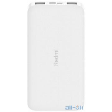 Внешний аккумулятор (Power Bank) Xiaomi Redmi Power Bank 10000mAh White (VXN4286, PB100LZM, VXN4266)