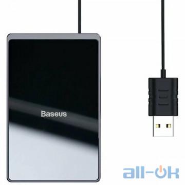Беспроводное зарядное устройство Baseus Card Ultra-Thin 15W Wireless Charger Black (WX01B-01)