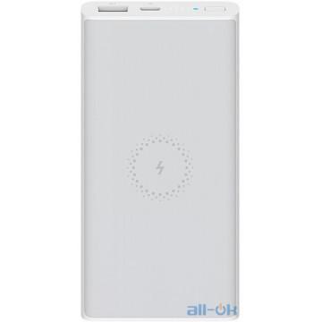 Внешний аккумулятор (Power Bank) Xiaomi Mi Wireless Youth Edition 10000 mAh White (WPB15ZM)(VXN4279CN)
