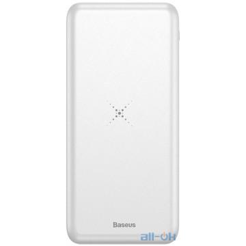 Внешний аккумулятор (Power Bank) Baseus M36 Wireless Charger Power Bank 10000mAh White (PPALL-M3602)