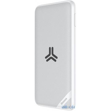 Внешний аккумулятор (Power Bank) Baseus Wireless Charger S10 Bracket 10000mAh White (PPS10-02)