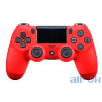 Геймпад Sony DualShock 4 V2 Magma Red (9894353)
