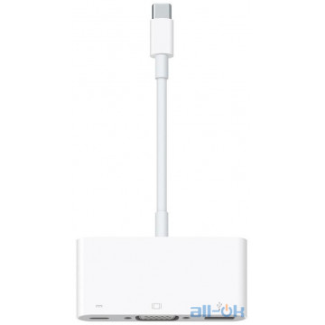 Адаптер Apple USB-C to VGA Multiport Adapter MJ1L2