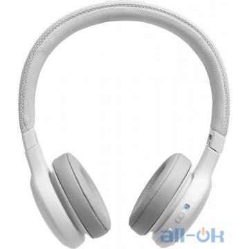 Наушники с микрофоном JBL Live 400BT White JBLLIVE400BTWHT UA UCRF