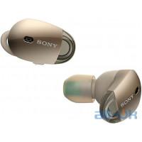 """Наушники TWS (""""полностью беспроводные"""") Sony WF-1000X Gold"""