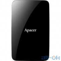 "Жорсткий диск Apacer AC233 3TB 2.5"" USB 3.0 External Black"