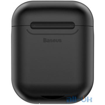 Кейс для наушников и гарнитур Baseus Wireless Charger Black (WIAPPOD-01)