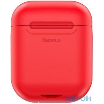 Кейс для наушников и гарнитур Baseus Wireless Charger Red (WIAPPOD-09)