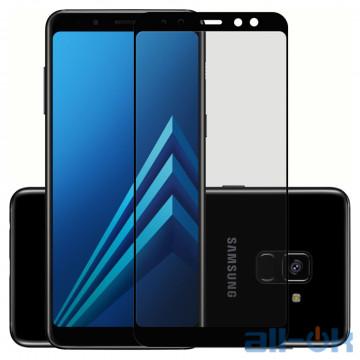Защитное Стекло 3D для Samsung A730 (A8 Plus-2018) Black