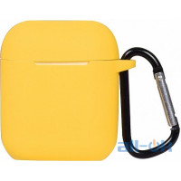 Кейс TOTO 2nd Generation Silicone Case AirPods Yellow