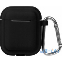 Кейс TOTO Plain Cover With Stripe Style Case AirPods Black