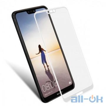 Защитное стекло 3D для Huawei P20 Lite White
