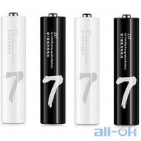 Набір акумуляторів Xiaomi ZMI ZI7 Rechargeable AAA 700mAh Ni-MH Batteries (HR03) (4 шт) (NQD4003RT)
