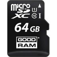 Карта памяти Goodram microSDHC/SDXC class 10 UHS-1 U3 SD adapter R95/W90MB/s 64Gb