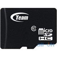 Карта пам'яті  TEAM 16 GB microSDHC UHS-I + SD Adapter TUSDH16GUHS03