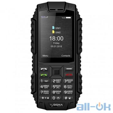 Sigma mobile X-treme DT68 black UA UCRF