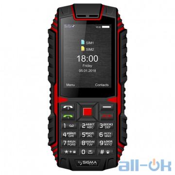 Sigma mobile X-treme DT68 black-red UA UCRF